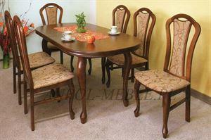 Obrazek Zestaw Elegancja stół i 4 krzesła