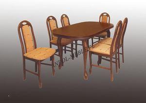 Obrazek Zestaw Eko stół i 6 krzeseł