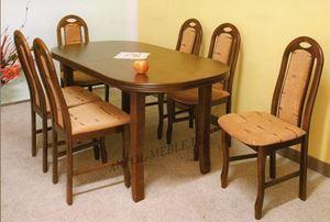 Obrazek Zestaw Tradycja stół i 4 krzesła