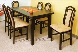 Obrazek Zestaw Coffe stół i 8 krzeseł