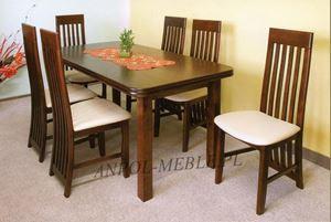 Obrazek Zestaw Tea stół i 6 krzeseł