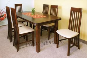 Obrazek Zestaw Tea stół i 12 krzeseł
