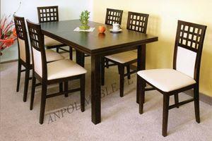 Obrazek Zestaw Magnat stół i 8 krzeseł
