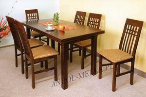 Obrazek Zestaw Rekreacja stół i 4 krzesła