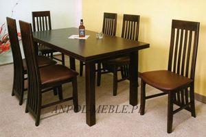 Obrazek Zestaw Rodzinny stół i 6 krzeseł