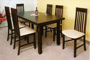 Obrazek Zestaw Arystokrata stół i 6 krzeseł