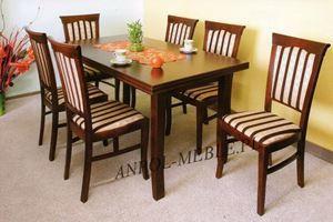 Obrazek Zestaw Cesarski stół i 8 krzeseł