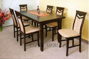 Obrazek Zestaw Wyborowy stół i 6 krzeseł