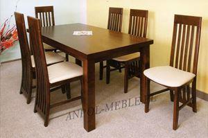 Obrazek Zestaw Dżentelmen stół i 8 krzeseł