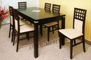 Obrazek Zestaw Baron stół i 8 krzeseł