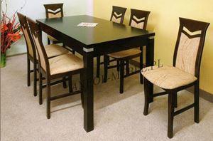 Obrazek Zestaw Tytan stół i 6 krzeseł