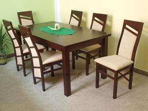 Obrazek Zestaw Finezja stół i 10 krzeseł