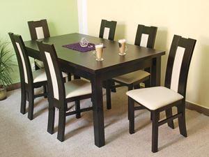 Obrazek Zestaw Szlachcic stół i 6 krzeseł