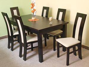 Obrazek Zestaw Szlachcic stół i 8 krzeseł