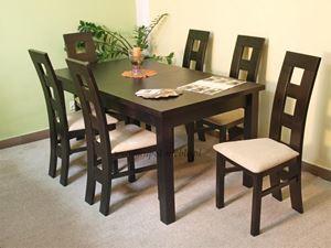 Obrazek Zestaw Brylant stół i 8 krzeseł
