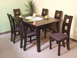 Obrazek Zestaw Perła stół i 4 krzesła