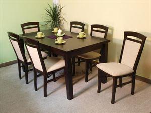 Obrazek Zestaw Kunszt stół i 4 krzesła