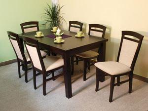 Obrazek Zestaw Kunszt stół i 6 krzeseł