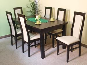 Obrazek Zestaw Ekspresja stół i 4 krzesła
