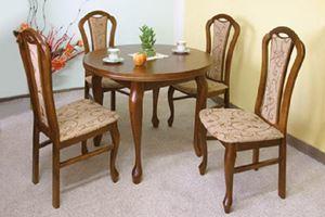 Obrazek Zestaw Mistrz stół okrągły i 2 krzesła