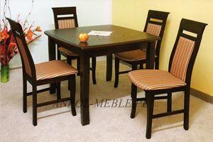 Obrazek Zestaw Klasyk stół i 4 krzesła