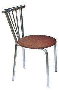 Obrazek Krzesło metalowe kuchenne Ewa