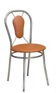 Obrazek Krzesło metalowe kuchenne Żaneta