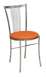 Obrazek Krzesło metalowe kuchenne Ewelina