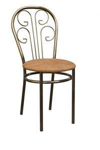Obrazek Krzesło metalowe kuchenne Maja