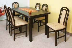 Obrazek Zestaw Coffe stół i 12 krzeseł