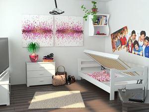 Obrazek Łóżko Kinia maxi z pojemnikiem na pościel