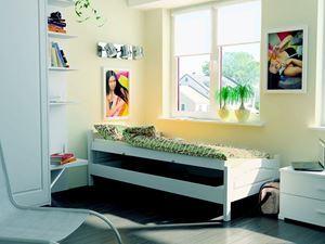 Obrazek łóżko  iga z pojemnikiem